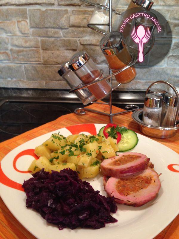 sertesszuz-kolbasztoltelekkel-bacon-kontosben5 - Sylvia..